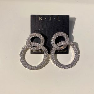 Sparkling shiny earrings. Excellent condition